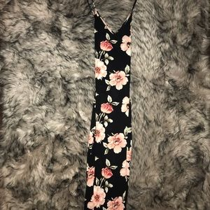 Kendall + Kylie Midi strappy back dress.